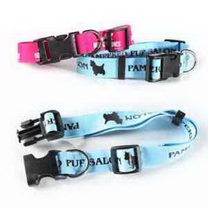 Flat Polyester Dog Collar