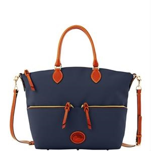 Nylon Large Pocket Satchel