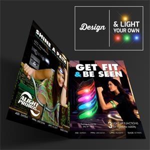 """8.5\"""" x 11\"""" LED Large Magazine Flyer"""