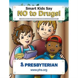 Coloring book- Smart kids say no to drugs