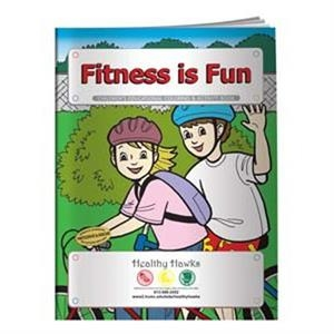 Coloring book- Fitness is Fun