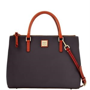 Pebble Grain Willa Zip Satchel