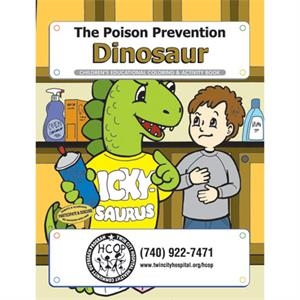 Coloring book- The Poison Prevention Dinosaur