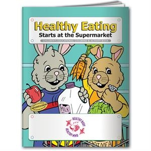 Coloring book- Healthy Eating Starts at the Supermarket