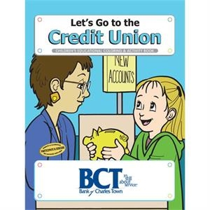 Coloring book- Let's Go the the Credit Union
