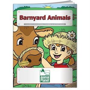 Coloring book- Barnyard Animals