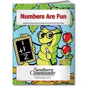 Coloring book - Numbers are Fun