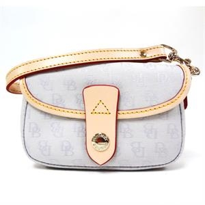 Signature Snap Flap Wristlet