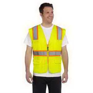 Classic Mesh Two-Tone Surveyor Vest