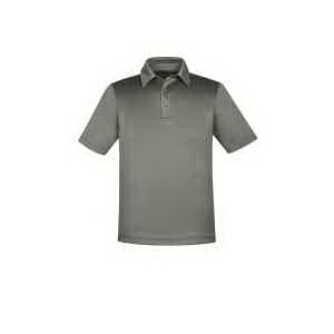 Men's Exhilarate Coffee Charcoal Performance Polo