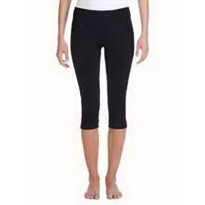 Bella & Canvas Ladies' Cotton/Spandex Capri Fit Legging