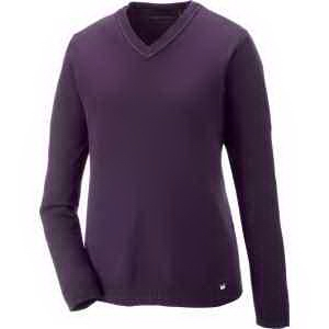 North End (R) Ladies' Merton Soft Touch V-Neck Sweater