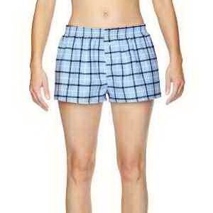 Robinson Apparel Juniors' Flannel Short