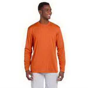 Harriton 4.2 oz Athletic Sport Long-Sleeve T-Shirt