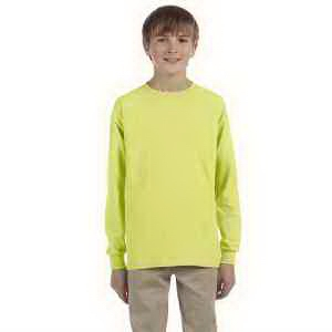 Youth 5.6 oz 50/50 Heavyweight Blend Long-Sleeve T-Shirt