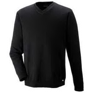 North End® Men's Merton Soft Touch V-Neck Sweater