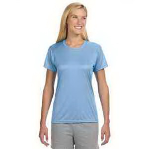 A4 Ladies' Short-Sleeve Cooling Performance Crew