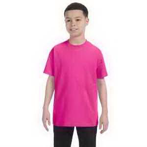 Jerzees Youth 5.6 oz, 50/50 Heavyweight Blend T-Shirt