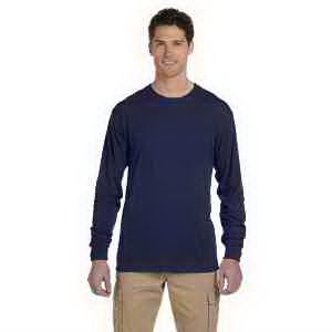 Jerzees 5.3 oz 100% Polyester Long-Sleeve T-Shirt