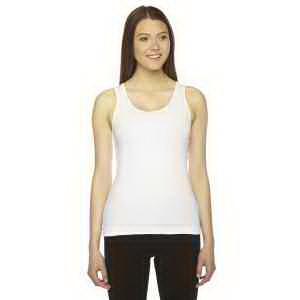 American Apparel Ladies' Rib Boy Beater Tank
