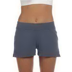 Bella + Canvas Ladies' Cotton/Spandex Fitness Shorts