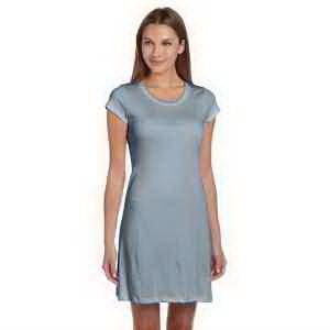 Ladies' Vintage Jersey Short-Sleeve T-Shirt Dress