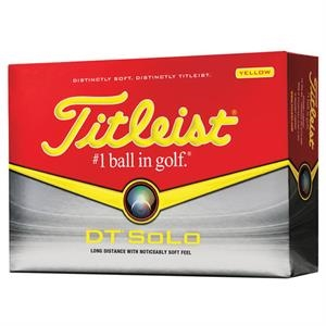 Titleist (R) DT SoLo Yellow Golf Ball Std Serv