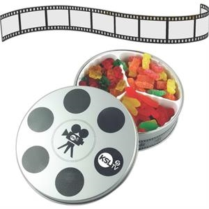 Movie Reel Confections Tin
