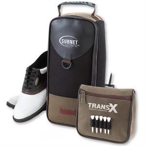 The Par Shoe Bag - Angolan Leather