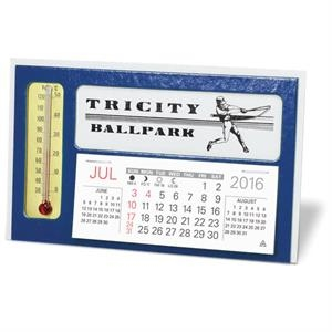Window with Thermometer  Desk Calendar