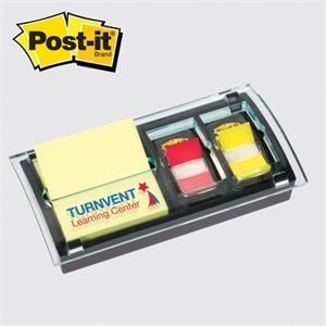 Post-it® Pop-Up Note & Flag Dispenser - Laser Engraved