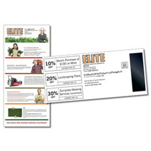 Mag Tab Mail Card (3.625x8.0) - 10 pt. Card with 1x3 Gap Mag