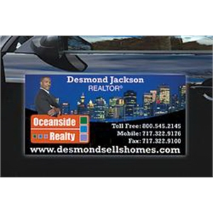 Magnetic Car/Truck/Auto/Vehicle Signs - 24x12 Round Corners
