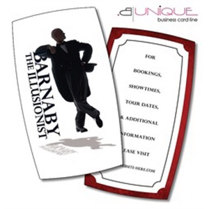 Extra-Thick UV-Coated (1S) Paper Business Card (3.5x2) - B.