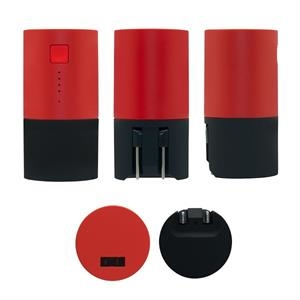 Charge and Go - 2 in 1 Powerbank RD (Round)
