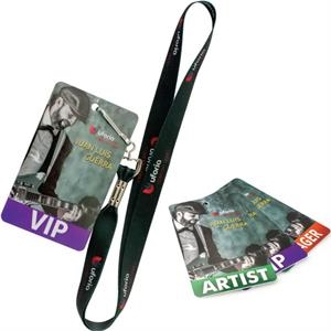 "Press Pass/Lanyard Card - 3"" x 5\"""