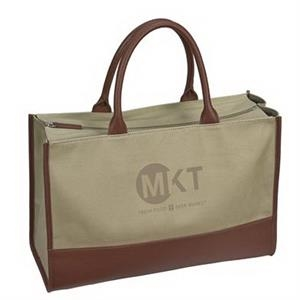Mercantile Leather Tote