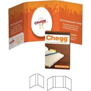 Tek Booklet with Oval Credit Card Mints