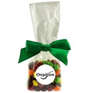 Mug Stuffer Gift Bag with Skittles Fruit Flavored Candy