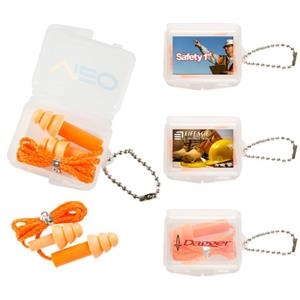 Silicone Ear plugs with String