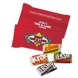 Custom Individually Wrapped Hershey Mini Chocolate Candy Bar