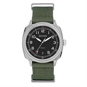 Men's Strap Watch - Green