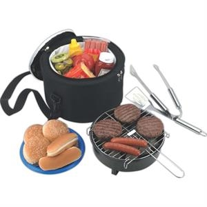Koozie(R) Portable BBQ With Cooler Bag