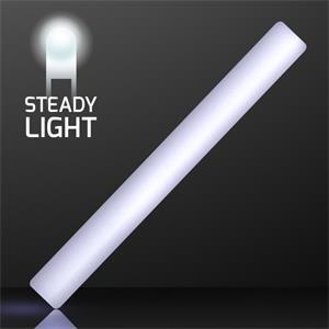 """16\"""" Steady White Light LED Cheer Sticks"""