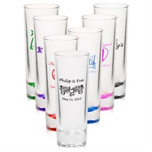 Clear 2 oz shooter cordial shot glass
