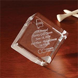 2 Inch 3D Jewel Cube