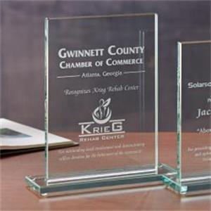 Glass Rectangle - Large Award