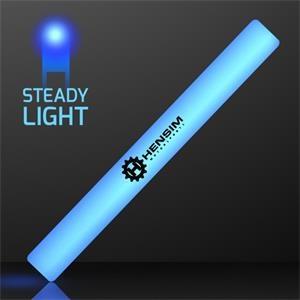 "16\"" Steady Lighting Blue LED Cheer Sticks"