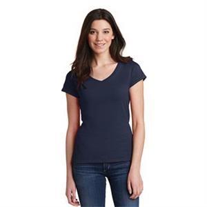 Gildan Softstyle Junior Fit V-Neck T-Shirt.