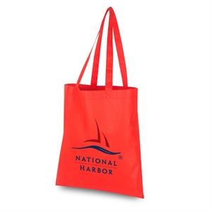"""Reusable Tote Bag NO Gusset w/23\"""" straps 15\""""W x 16\""""H"""